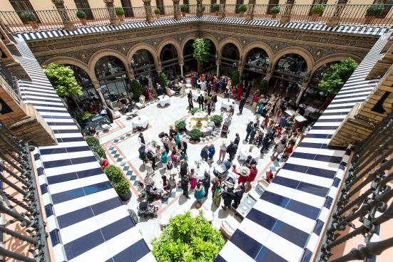Reportaje fotográfico de Boda en el Hotel Alfonso XIII