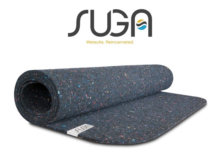 Premium quality yoga mats made entirely from recycled wetsuits in the USA and inspired by the California lifestyle