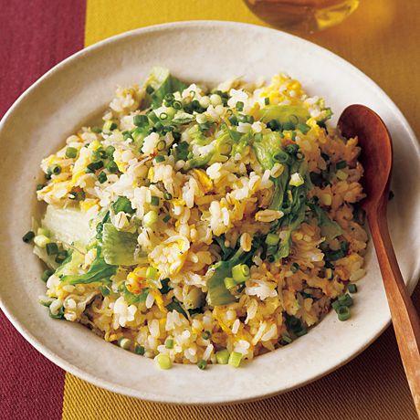 大麦のじゃこチャーハン   飛田和緒さんのごはんの料理レシピ   プロの簡単料理レシピはレタスクラブネット