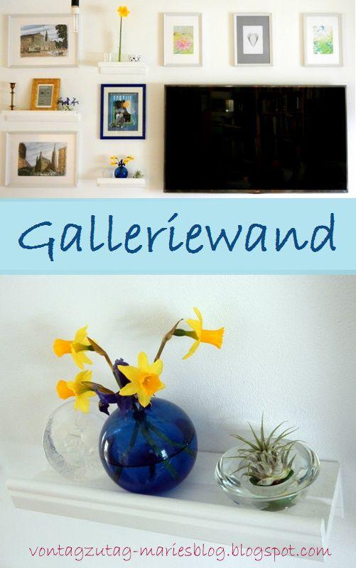 Von Tag zu Tag - Maries Blog: Die neue Galleriewand ist so gut wie fertig