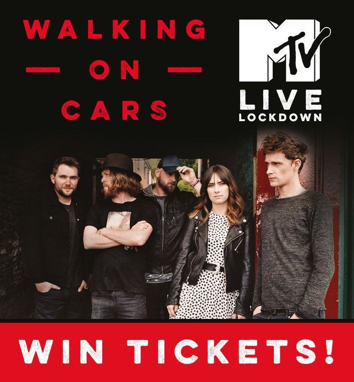 ©walkingoncars twitter - We're playing @MTVUK Live Lockdown Sunday 9th! If you fancy coming along enter here: po.st/WOCMTV  (16+)