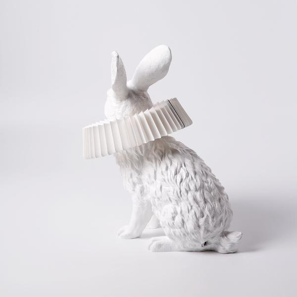 Hasenlampe Mit Deko Skulptur Fur Wohnzimmer Schlafzimmer Kinderzimmer In 2020 Modern