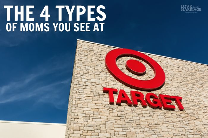 So funny!  What is it about Target?  We just love it.  It's like the Mom Headquarters.