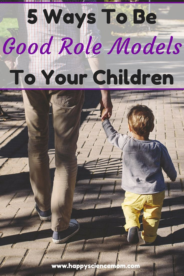 Role models: which ones do we want for our kids? - The ...