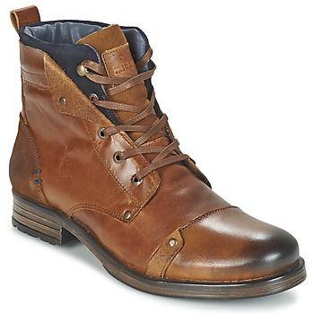 Schuhe Herren Boots Redskins YEDES Cognac