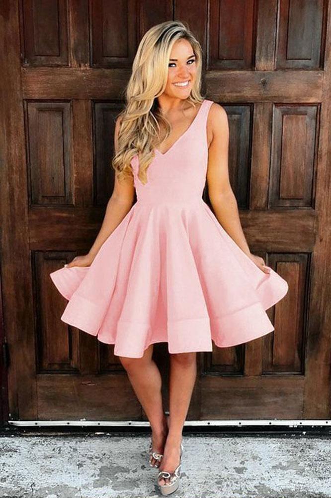 semi formal casual homecoming dresses