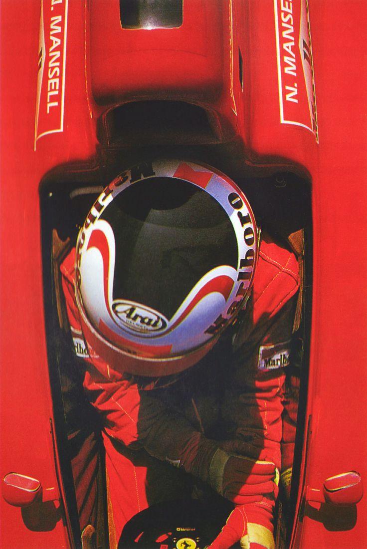 Nigel Mansell - Ferrari