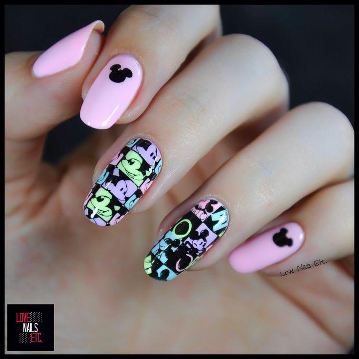 Mickey Mouse par Love Nails Etc