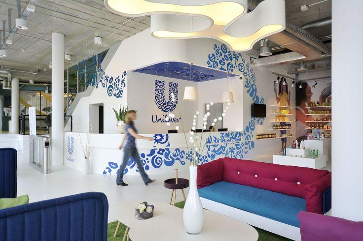Unilever Agile Working | Reception #Unilever, #AgileWorking, #Schaffhausen