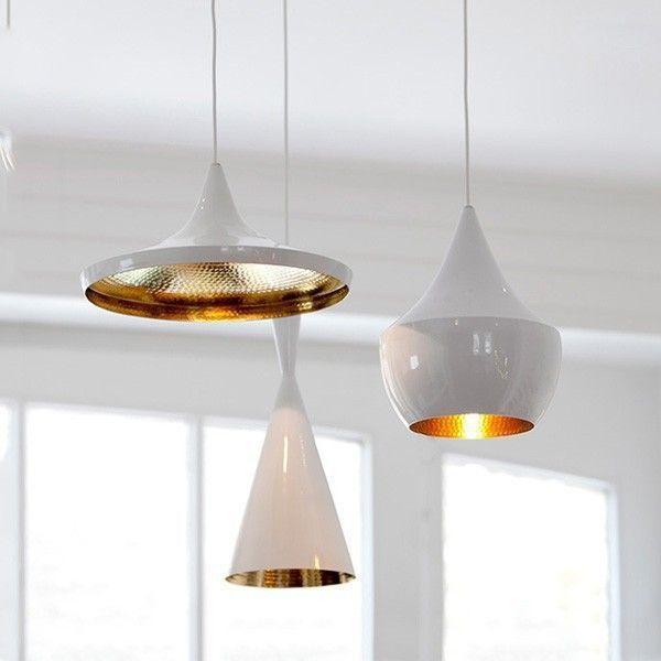 Wholesale 525- 10 Modern Beat White aluminum decorative pendant lamp Pendant Light - Alibaba.com