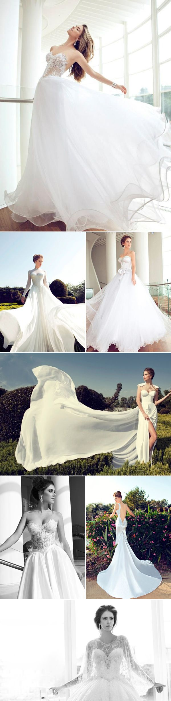 Nurit Hen gorgeous bridal dresses