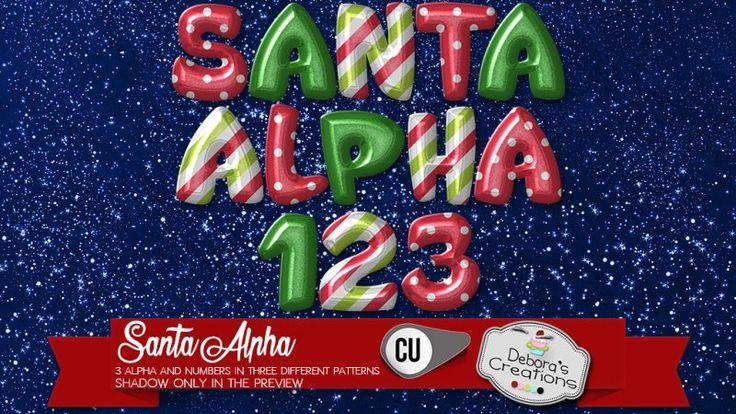 Santa Alpha by Debora's Creations (CU)