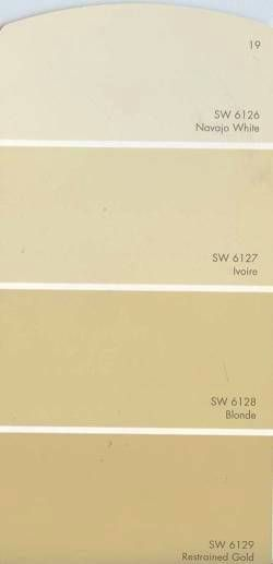 """We chose """"blonde"""" for our living room and school room color."""