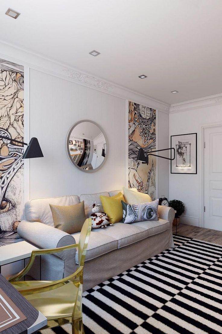 Dekorieren Sie Kleine Zimmer Mit Stil Und Modernität