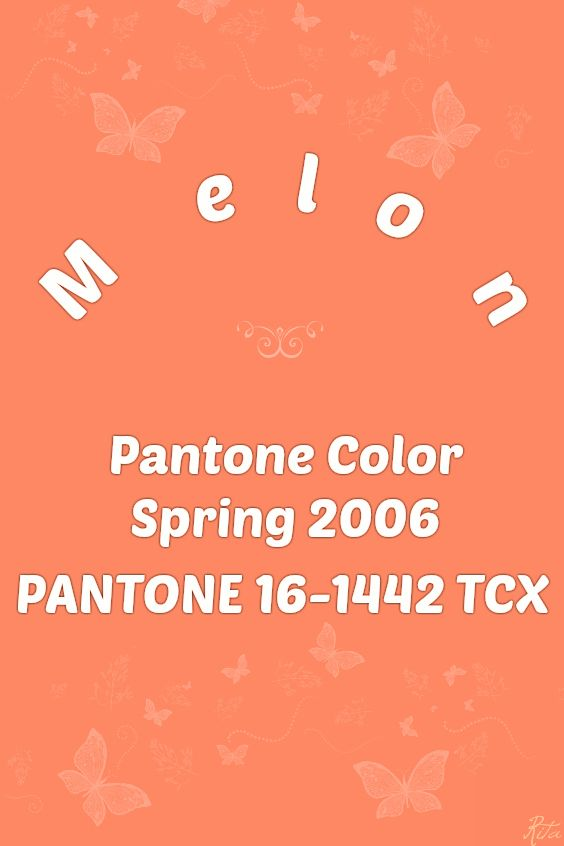 Pantone Melon C Color Orange Red Purple Colorful Fashion