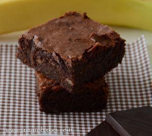 Banánové brownie
