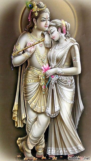 Radha Krishna, this is one of the perfect romances in history. We have statue's depicting their all encompassing love . 16/02
