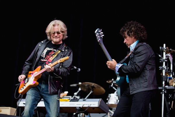Daryl Hall and John Oates of Hall & Oates perform in San Francisco, California.