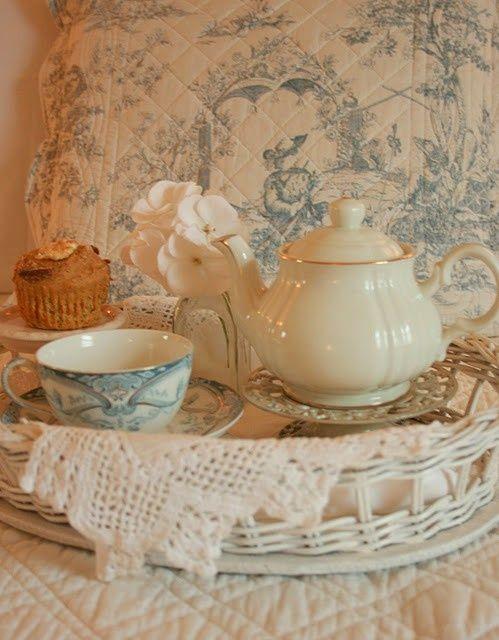 Ready for tea!