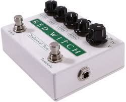 The Pentavocal Tremolo is a tremolo with five different voices to choose from. You can select the frequency response by turning the rotary selector to the desired setting. From a delicate, shimmery, flutter trem to a pulsy low end throb they're all there.  The Pentavocal Tremolo can certainly also do the classic sound of a vintage valve trem and then soooo much more.  It also has another completely unique feature - the bottom control.