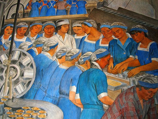 1475 best images about san francisco and bay area on for Diego rivera mural san francisco