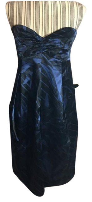 c98fe98b4b98 Ted Baker Blue and Black London Formal Dress Size 4 (S). Free shipping and  guaranteed authenticity on Ted Baker Blue and Black London Formal Dress Size  4 ...