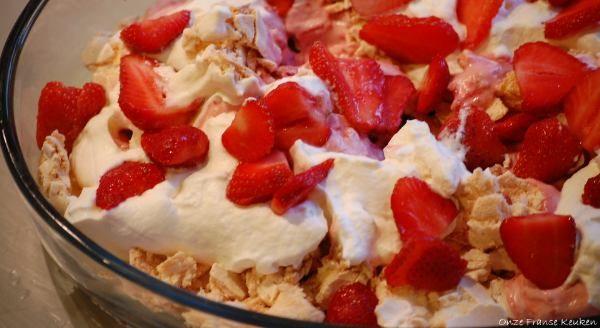 Onze Franse Keuken: Hèt aardbeiendessert van La Panacée seizoen 2013: ...