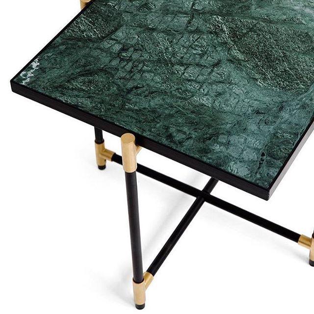 @handvark Green Marble Table