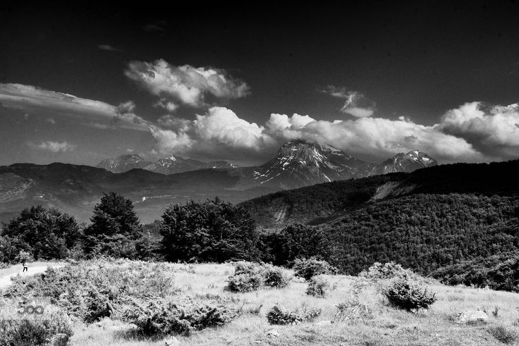 view of the Gran Sasso by marco branchi on 500px