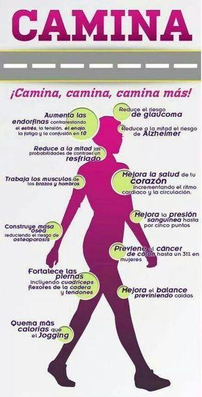 Camina por tu salud.