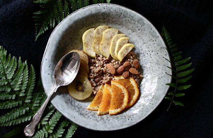 Vitamin rich vegan winter breakfast
