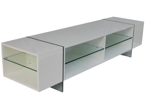 Entertainment Unit Gloss White - Complete Pad ®