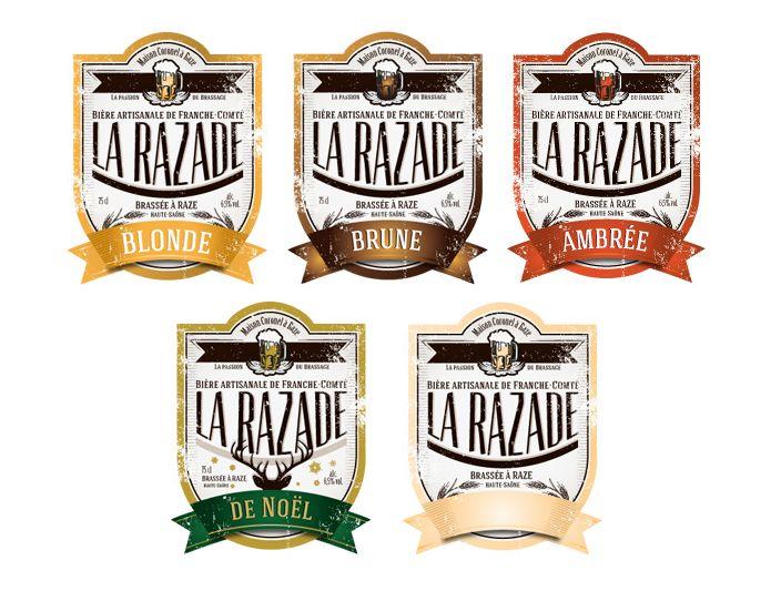 La bière artisanale de Raze