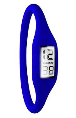 Silicon Digital Watch Sports Ion Waterproof Blue  www.GadgetPlus.ca