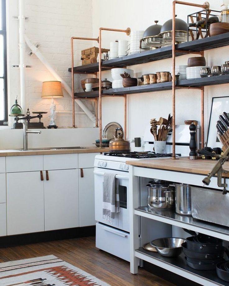 Upper Kitchen Cabinet Decorating Ideas: Top 25+ Open Upper Kitchen Cabinets Design Ideas For