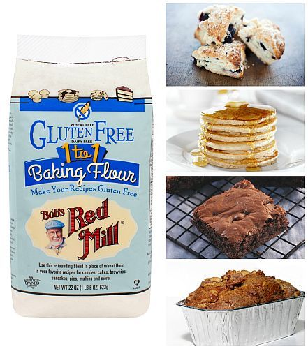 NEW!! Gluten Free 1-to-1 Baking Flour | Bob's Red MillBobs 1 To 1 Flour, Blends Gluten Free, 1 To 1 Baking, Gluten Free Baking, Eating Gluten, Baking Flour, Gfree Baking, Free 1 To 1, Bobs Red Mills