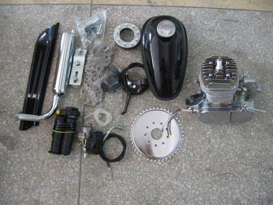 Bicycle Engine Kit 48cc/60cc/80cc & Chromed Engine Kit
