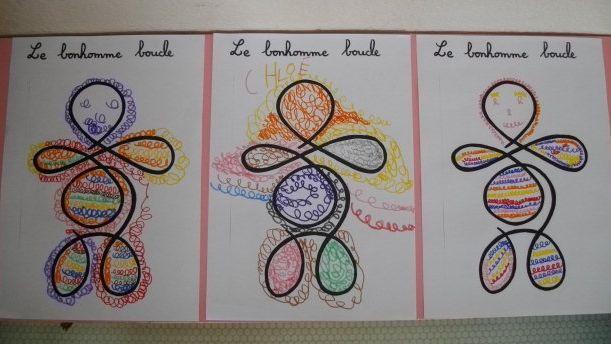 Graphisme et écriture en GS - Ecole W Rousseau