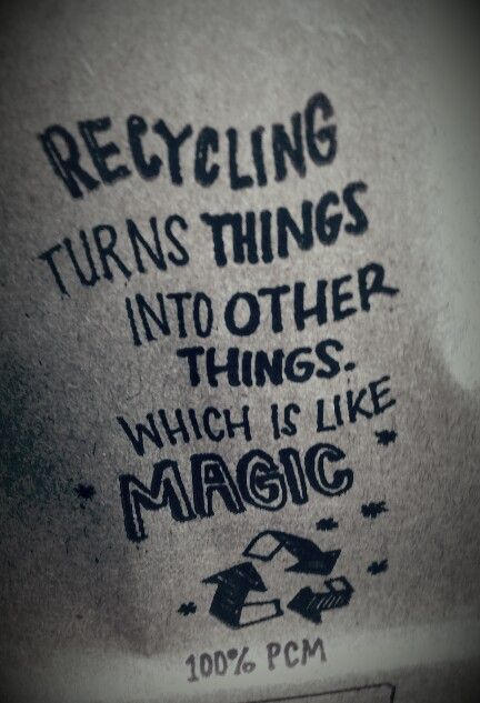 Recycling - Buy Nothing New - #recycling #recycling