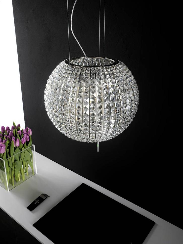 Not only a light, but also a stunning rangehood | Winning Appliances Stunning Elica Rangehood #kitchen #interior #decor