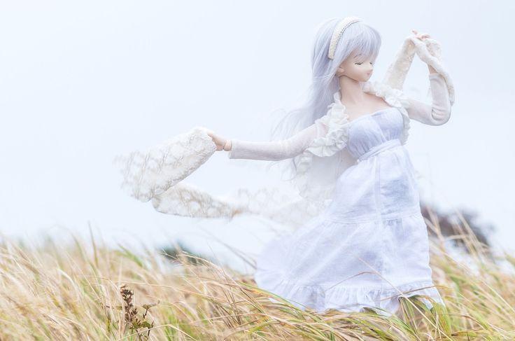 Скачать обои кукла, игрушка, сиреневые волосы, раздел настроения в разрешении 1920x1271