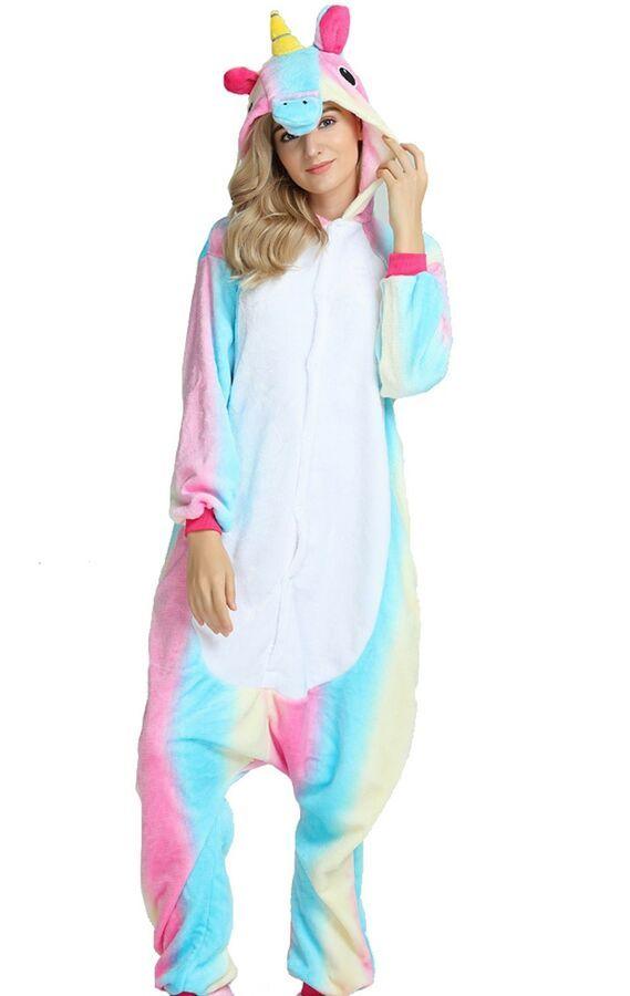 ef3c25de4f Pigiama kigurumi costume unicorn carnevale adulti cosplay animali tuta  party#unicorn#carnevale#costume