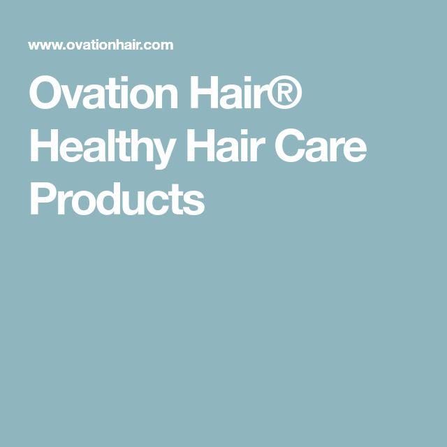 Ovation Hair® Healthy Hair Care Products