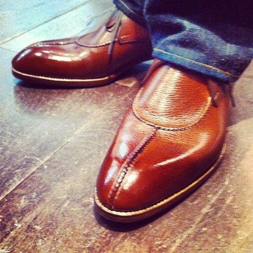 leffot: Saint Crispin shoes have arrived. This is model 108 (Taken with Instagram at Leffot)