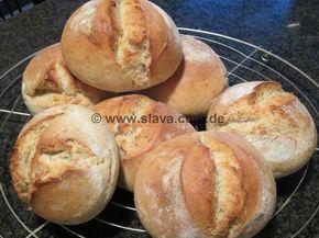 Slavas knusprige Ruckzuck-Brötchen « kochen & backen leicht gemacht mit Schritt für Schritt Bilder von & mit Slava