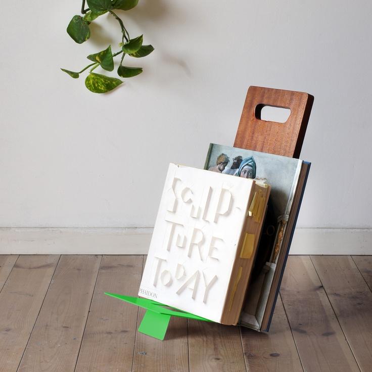 shelf // shay carmon + ben klinger: Design Ideas, Ben Klinger, Shelf Green, Homeless Books, Elie Shelf, Products, Shay Carmon, Studios Ve, Books Stands