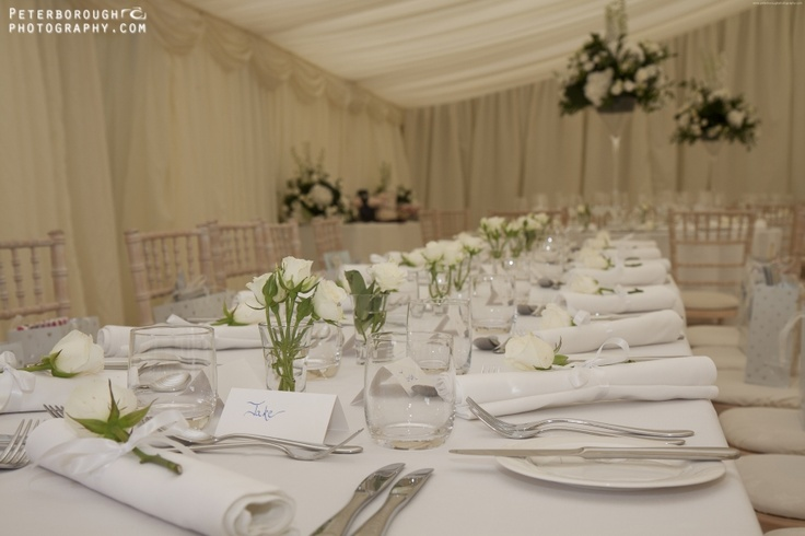 table settings for weddings - wedding photographer - www.peterboroughphotography.com