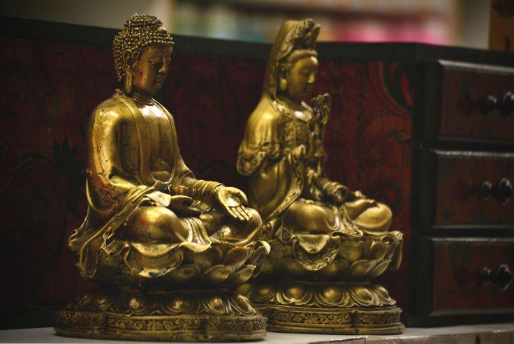 Buda Sentado Gr. 25 cm. - CÓD. 901V