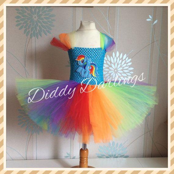 Arco iris Vestido de Dash. Inspiración vestido por DiddyDarlings