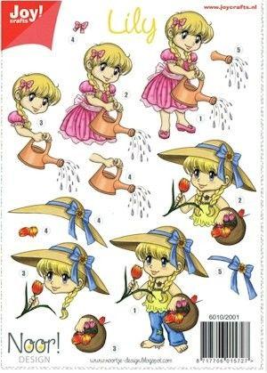 6010/2001 Bloemenmeisje 1 Lily